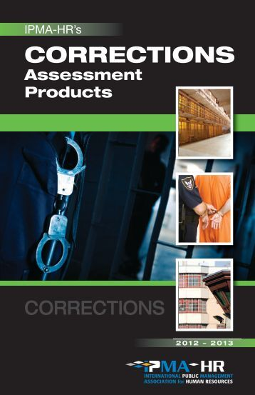Download a corrections test catalog - IPMA