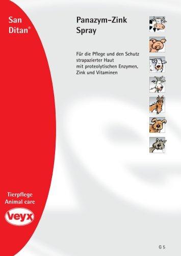 Panazym-Zink Spray - Veyx-Pharma GmbH