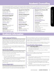 affiliated university Colleges - Academic Calendar - University of ...