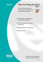 Phos-Cal-Mag plus VeyFo® - Veyx-Pharma GmbH