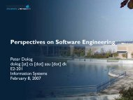 Perspectives on Software Engineering