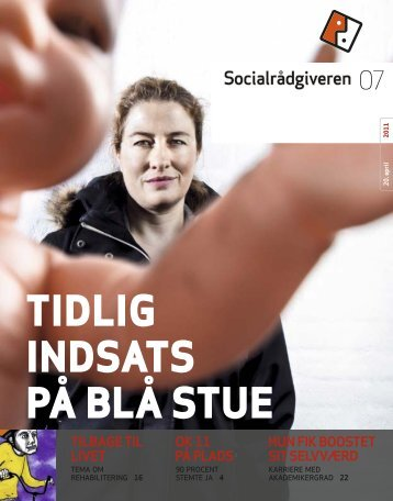 Socialrådgiveren nr. 7-2011 - Dansk Socialrådgiverforening