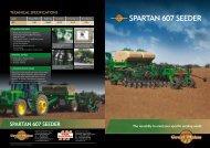 SPARTAN 607 SEEDER - Great Plains International