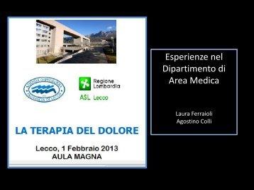 L. Ferraioli - A. Colli