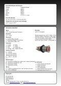 Bouton-poussoir illuminé par LED, type LDT 17 - Page 2