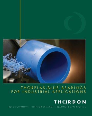 THORPLAS-BLUE BEARINGS - Thordon Bearings