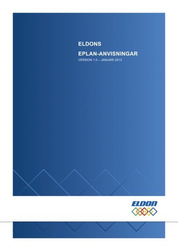 Användarhandbok - Eldon