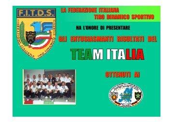 CD Campionati Europei 2001 - Fitds