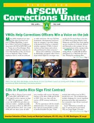 Fall 2008 ACU Newsletter VMOs Help Corrections ... - AFSCME