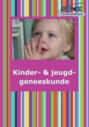 Kinder- & jeugd- geneeskunde - Sfz.be