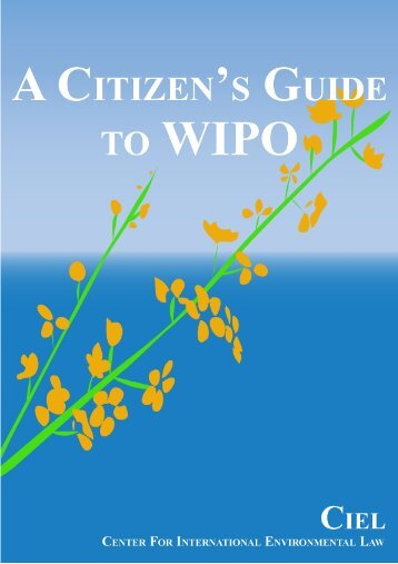 A Citizen's Guide to WIPO - The Center for International ...