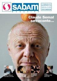 Claude Semal se raconte… - SABAM.be