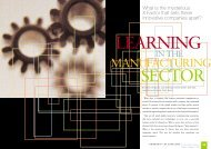 Learning in the Manufacturing Sector by Barbara Simpson, Judy ...