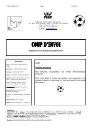 CPE N° 4 - 2012-2013 - FSGT 92