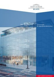 SGG STADIP® - Hole Glass AS