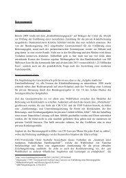 Fact Sheet zum Betreuungsgeld - Gerold Reichenbach