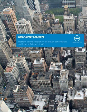 Data Center Solutions Brochure - PartnerDirect - Dell