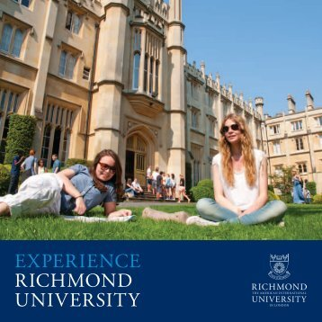 2013 View Book - Richmond - The American International University ...