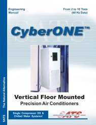 Engineering Manual - Stulz Air Technologies Inc.