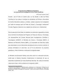 Bibliotecas Escolares.pdf - Universidad de Costa Rica