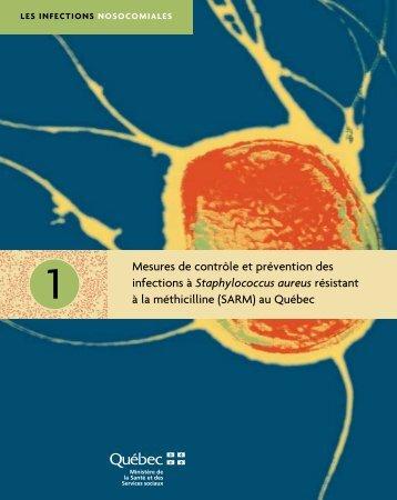 Les infections nosocomiales - Gouvernement du Québec