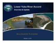 Feb 2, 2010 Gold Country Presentation.pdf - Lower Yuba River Accord