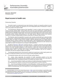 Adopted text - Council of Europe Parliamentary Assembly