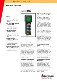 Intermec M90 - intermec barcode scanner etikettendrucker terminal ...
