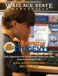 fit Org. stage ID n, AL t #17 - Wallace State Community College
