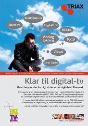 Klar til digital-tv - Triax