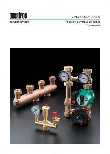 Kotlovska i armatura za pumpe