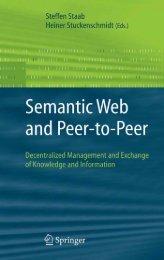 Semantic Web and Peer-to-Peer - Developers