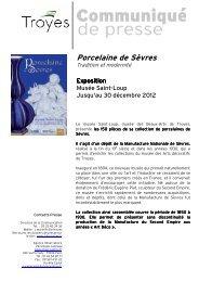 Porcelaine de Sèvres - Observatoire