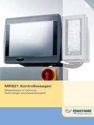 MR821 Kontrollwaagen - Multivac