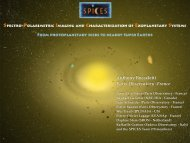 Anthony Boccaletti Paris Observatory -France - Science in Santiago