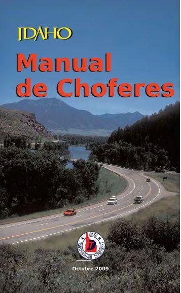 Drivers Manual Master - Idaho Transportation Department