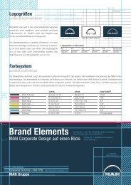 Brand Elements - MAN Brand Portal