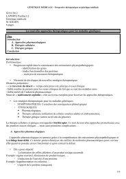 02/01/2012 LAPORTE Paoline L2 Génétique médicale M. KRAHN 6 ...