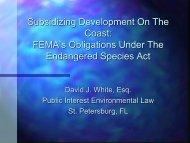 conservation - Mississippi-Alabama Sea Grant Legal Program