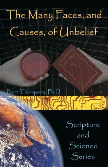 The Many Faces and Causes of Unbelief - Online Christian Library