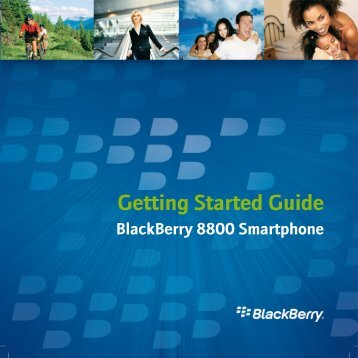 Blackberry 8800 - Getting Started Guide - Du