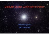 Globular cluster luminosity function as distance indicator and ...