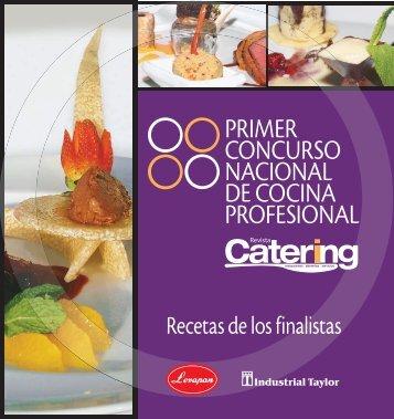 primer concurso nacional de cocina profesional - Catering.com.co