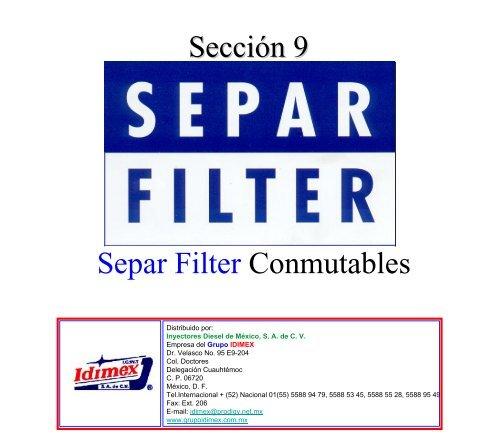 seccion 9 Separ Filter.pdf - Grupo IDIMEX