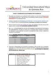 Universidad Intercultural Maya de Quintana Roo - UIMQRoo