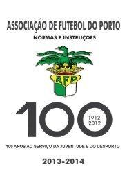 normas e intruções época 2013-2014 - Associação de Futebol do ...