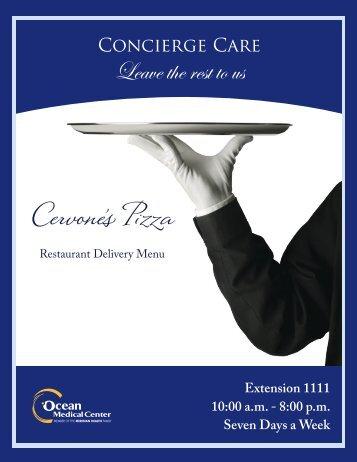 Cervone's Pizza - Ocean Medical Center