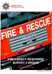 ERS_Results Sumary_Web_Version 2008-09 - Northern Ireland Fire ...