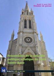 Présentation de la nouvelle politique artistique du ... - Montpellier