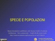 Genetica delle popolazioni aa 10-11 prof S. Presciuttini